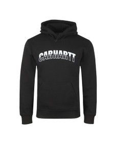 Carhartt WIP Mens Black Hooded District Sweatshirt