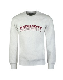 Carhartt WIP Mens Grey District Sweatshirt