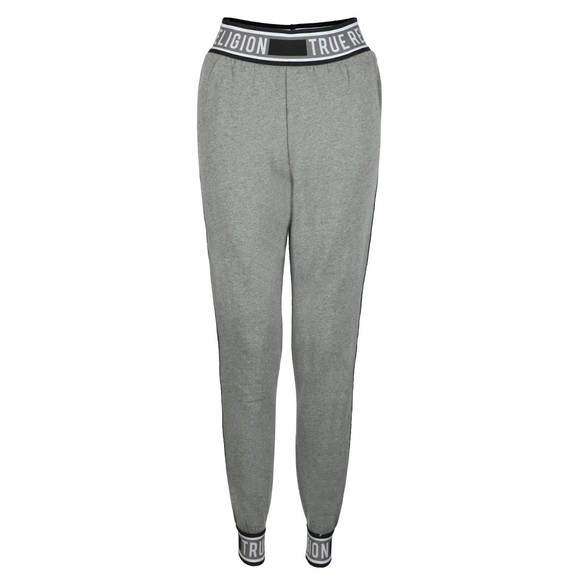True Religion Womens Grey Taping Jogger