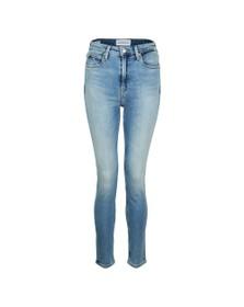 Calvin Klein Jeans Womens Blue 010 High Rise Skinny Jean