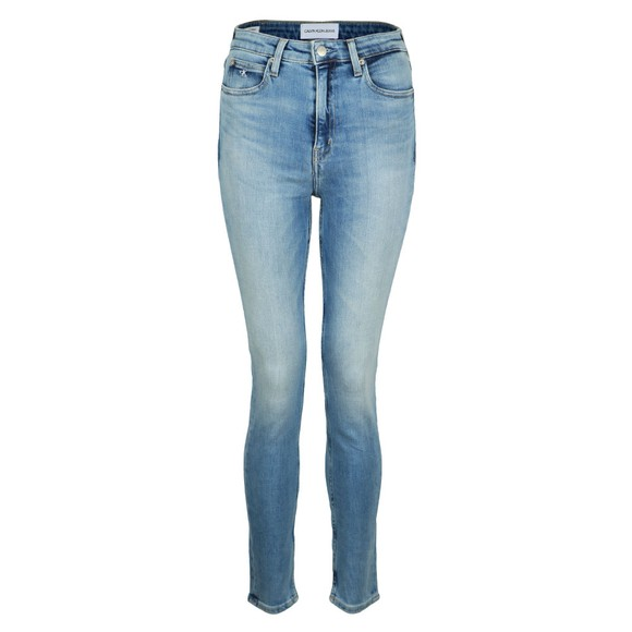 Calvin Klein Jeans Womens Blue 010 High Rise Skinny Jean main image