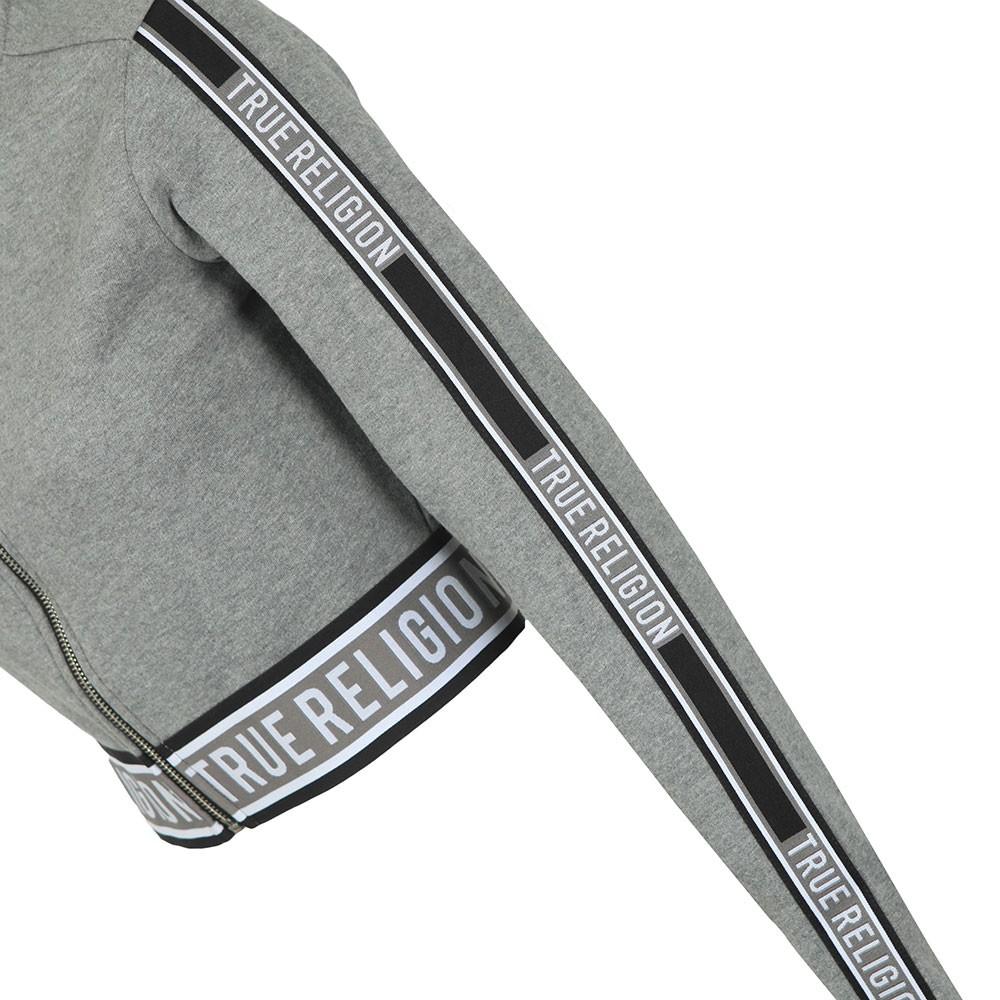 Branded Taping Full Zip Sweatshirt main image
