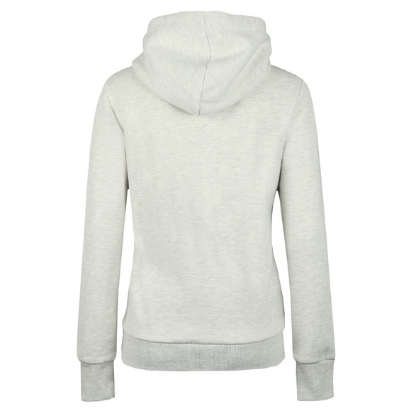 Superdry Womens Off-White City Nights Snake Entry Hoody main image