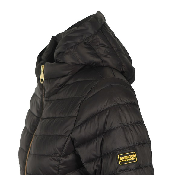Barbour International Womens Black Score Quilted Jacket main image