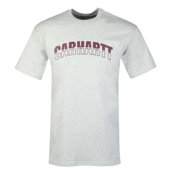 Carhartt WIP Mens Grey District T-Shirt