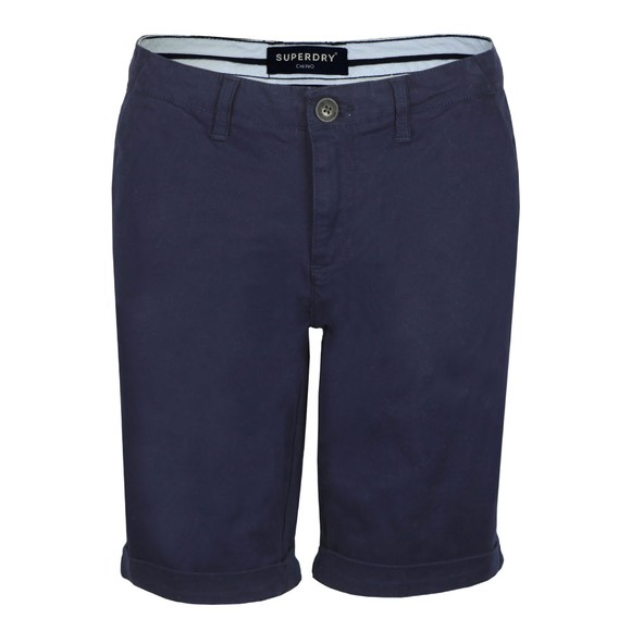Superdry Womens Blue City Chino Short