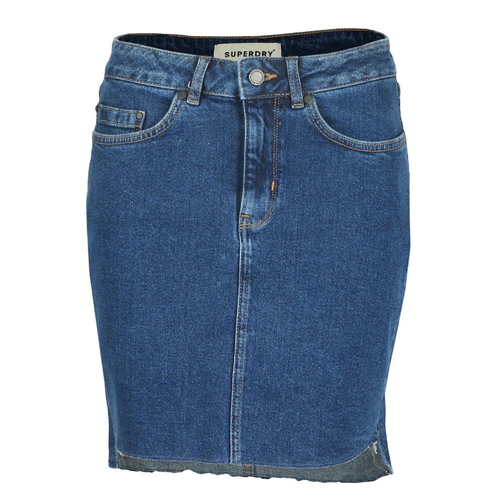 Denim Mini Skirt main image