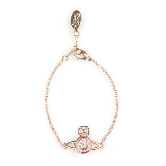 Vivienne Westwood Womens Pink Nora Bracelet