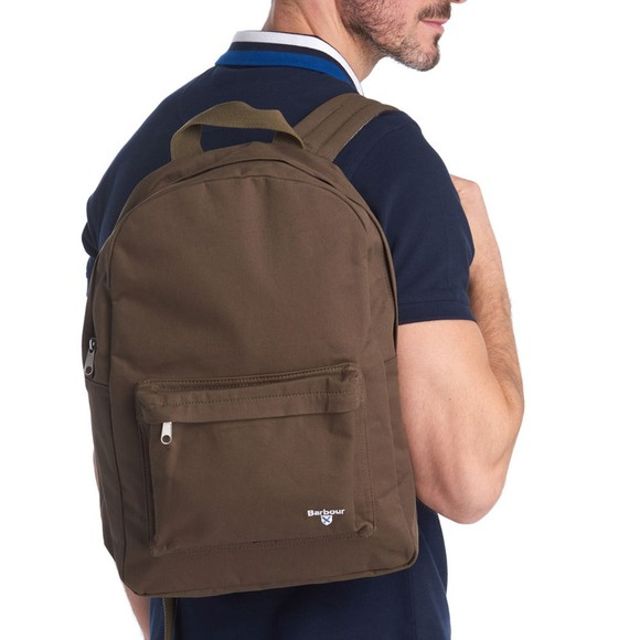 Barbour Lifestyle Mens Green Cascade Backpack main image