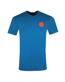 Edwin Mens Blue Japanese Sun T Shirt