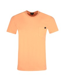 Edwin Mens Pink Pocket T Shirt