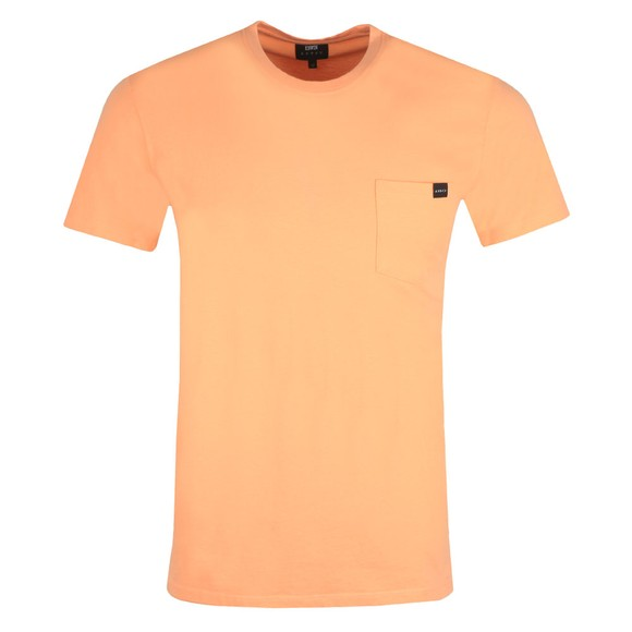 Edwin Mens Pink Pocket T Shirt main image