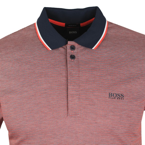 BOSS Mens Blue Athleisure Paddy 2 Polo Shirt main image