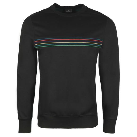 PS Paul Smith Mens Black Stripe Sweatshirt