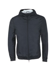 Emporio Armani Mens Blue Back Logo Lightweight Jacket