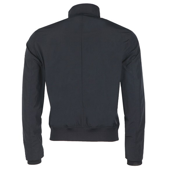Emporio Armani Mens Blue Full Zip Arm Logo Lightweight Jacket main image