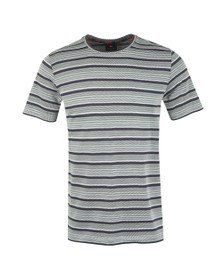 PS Paul Smith Mens Grey Stripe T-Shirt