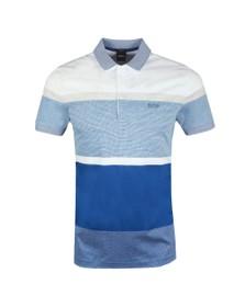 BOSS Mens Blue Paddy 4 Polo Shirt