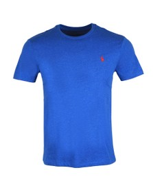 Polo Ralph Lauren Mens Dockside Blue Heather Custom Slim Fit T-Shirt