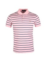 Pima Cotton Stripe Polo Shirt