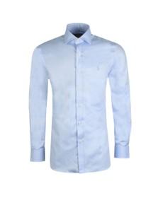 Polo Ralph Lauren Mens Blue Dress Shirt