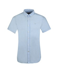 Barbour Lifestyle Mens Blue S/S Oxford 3 Shirt