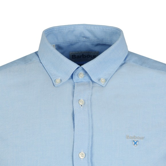 Barbour Lifestyle Mens Blue S/S Oxford 3 Shirt main image