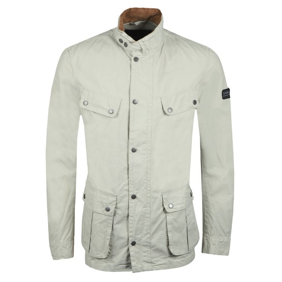 Barbour International Mens Beige Coloured Duke Jacket main image