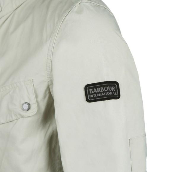 Barbour International Mens Beige Coloured Duke Jacket