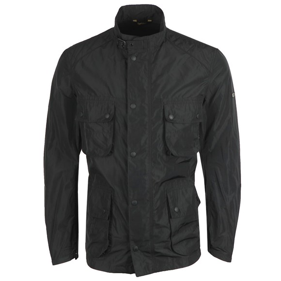 Barbour International Mens Black Weir Casual Jacket