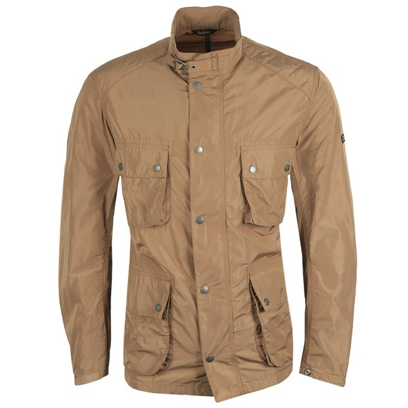 Barbour International Mens Beige Weir Casual Jacket main image