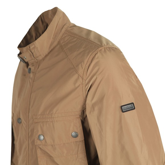 Barbour International Mens Beige Weir Casual Jacket
