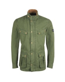 Barbour International Mens Green Coloured Duke Jacket