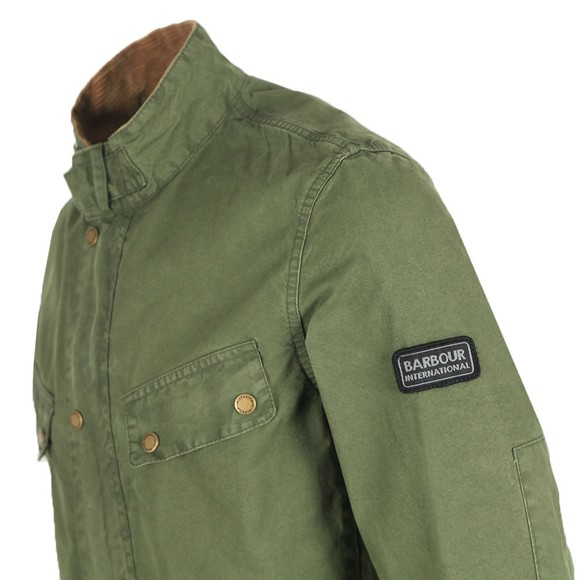 Barbour International Mens Green Coloured Duke Jacket main image