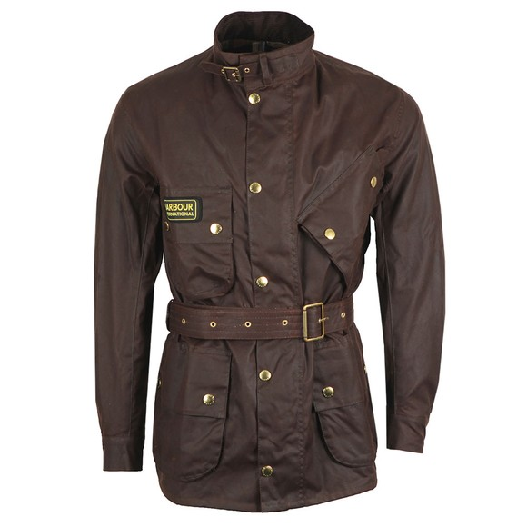 Barbour International Mens Brown International Jacket