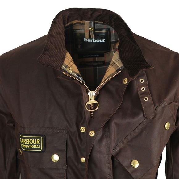 Barbour International Mens Brown International Jacket main image