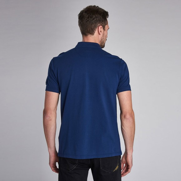 Barbour International Mens Blue Pocket Polo Shirt main image