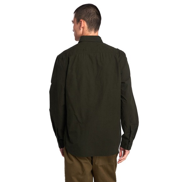 Barbour Beacon Mens Green Ripstop Shirt main image