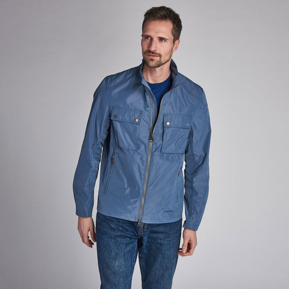 Barbour Int. Steve McQueen Mens Blue Ashbury Jacket
