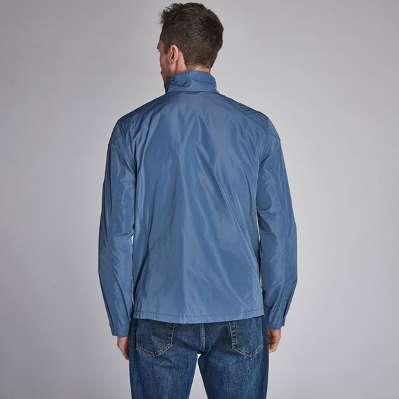 Barbour Int. Steve McQueen Mens Blue Ashbury Jacket main image