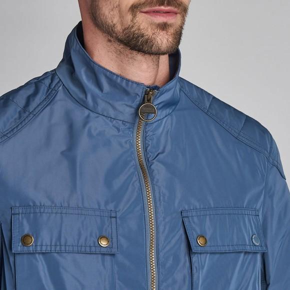 Barbour Int. Steve McQueen Mens Blue Ashbury Jacket main image
