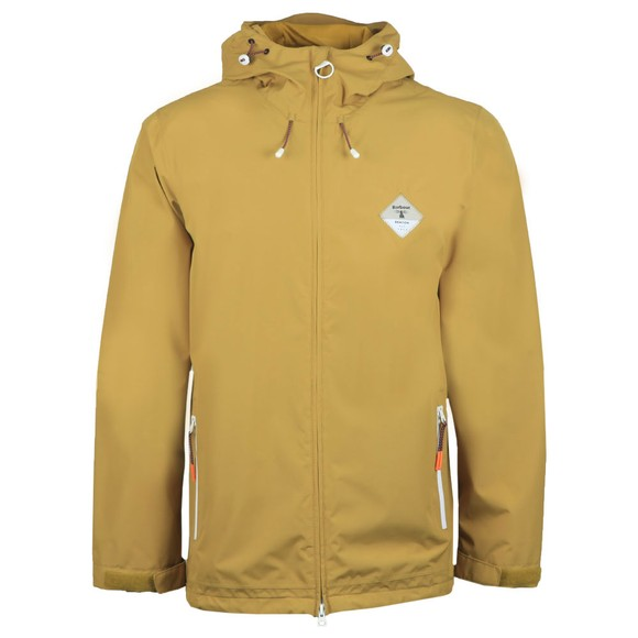 Barbour Beacon Mens Yellow Mound Jacket