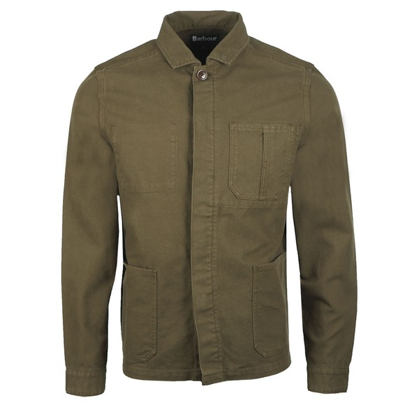 Barbour Lifestyle Mens Green Duncansea Overshirt