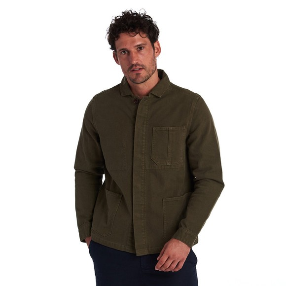 Barbour Lifestyle Mens Green Duncansea Overshirt main image