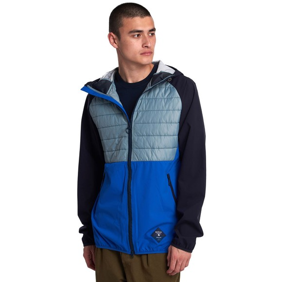 Barbour Beacon Mens Blue Gable Jacket