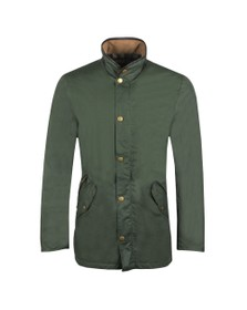 Barbour Lifestyle Mens Green Lightweight Prestbury Jacket
