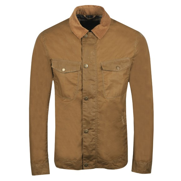 Barbour Lifestyle Mens Beige Trello Wax Jacket