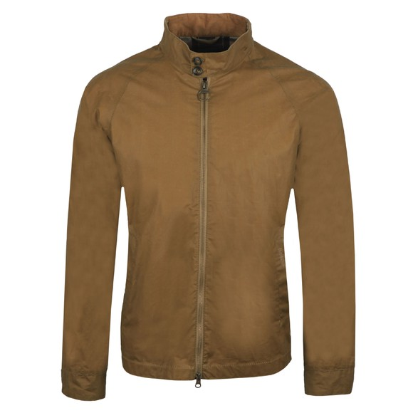 Barbour Lifestyle Mens Beige Ender Wax Jacket