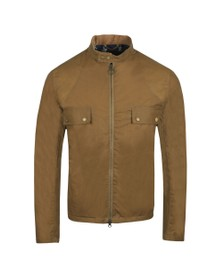 Barbour Int. Steve McQueen Mens Beige Wilkin Wax Jacket