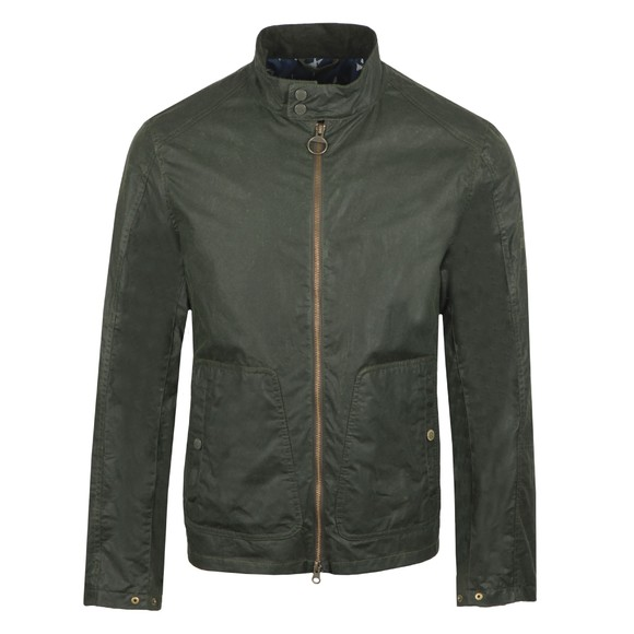 Barbour Int. Steve McQueen Mens Green Johnida Wax Jacket